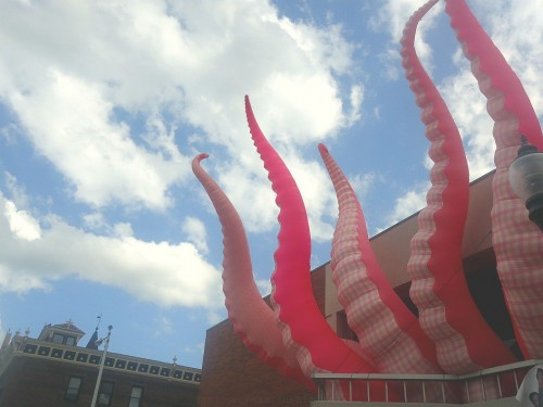 Kraken on Musser Public Library - by Kayla Harris